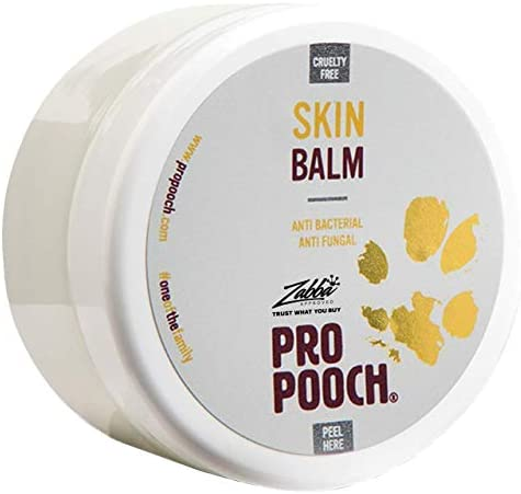 Pro Pooch Itchy Skin Dog Balm – For Dogs w/Sensitive Skin – Helps Relieve Itching & Symptoms of Other Dry Skin Conditions – Antibacterial & Antifungal – 100ml