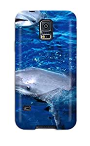 Hot Tpye Dolphins Case Cover For Galaxy S5