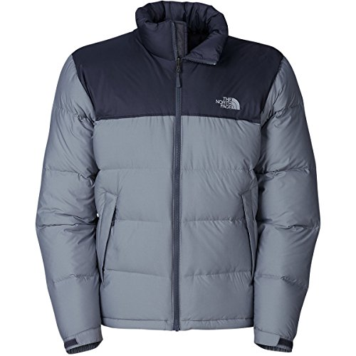 The North Face Nuptse Down Jacket - Men's Vanadis Grey Heather/Vanadis Grey, XL
