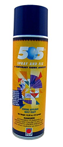 505 Spray & Fix Temporary Fabric Adhesive 352.6 gm by JT Trading