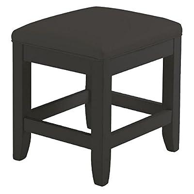 Home Styles Bedford Vanity Bench - Black