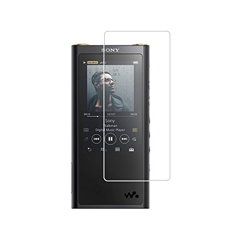 Toshion NW ZX300 Screen Protector,9H Hardness Tempered Glass Screen Protector for Sony Walkman NW ZX300 with Anti-fingerprint Bubble-Free Crystal Clear