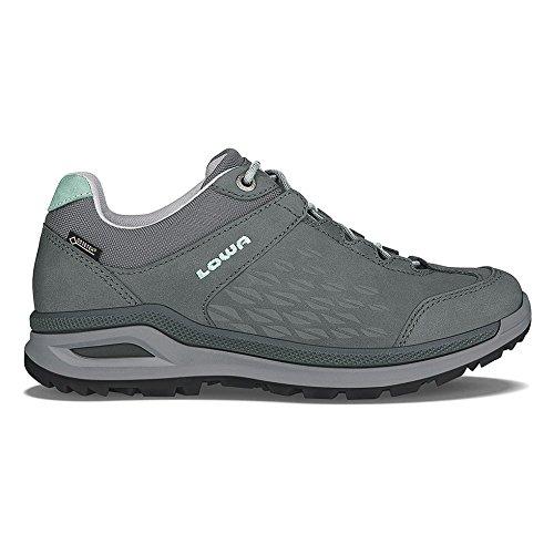 Picture of Lowa Women's Locarno GTX Lo Hiking Shoe (10 Medium, Graphite/Jade)
