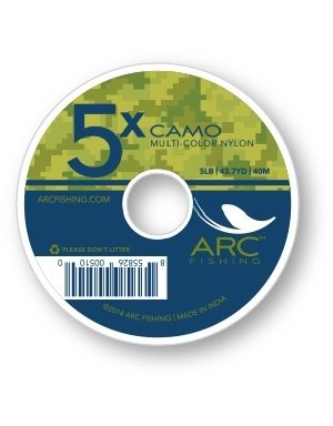 ARC Fishing Camo Tippet CAMO 4X