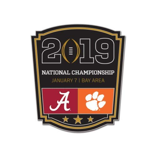 Championship Football National Bcs - 2019 National Championship Pin Alabama vs. Clemson