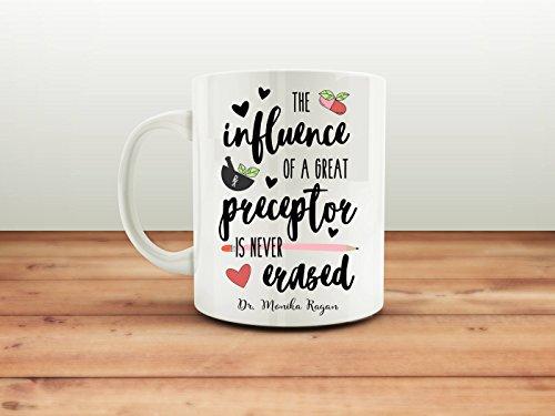 LIZNICE - Personalized Medic Mug   Rx   Pharmacy   Preceptor   Teacher   Medicine   Home Office Ceramic Mug MUG 15oz