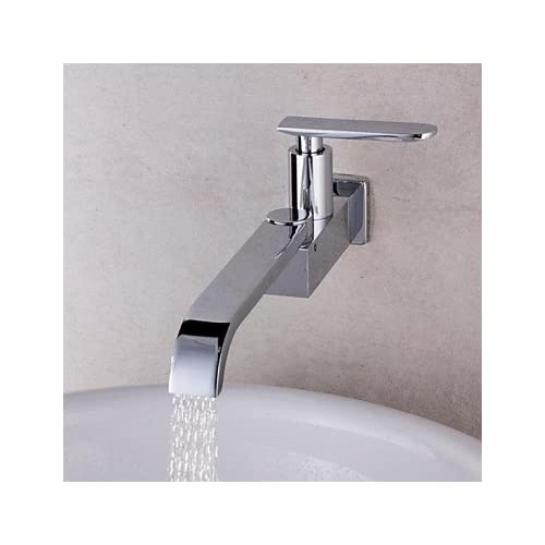 Wu0026P 360 Rotation Single Tube Kitchen Tap Faucet Chrome Sink Cold Tap Single  Handle Faucet