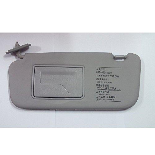 - Sell by Automotiveapple, OEM Genuine 852101C200QS Gray Inside LH Sun Visor Assy 1-pc For 2002-2012 Hyundai Getz : Click