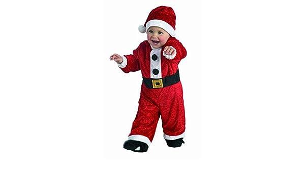 Disfraz Papá Noel bebé. Talla 2 años.
