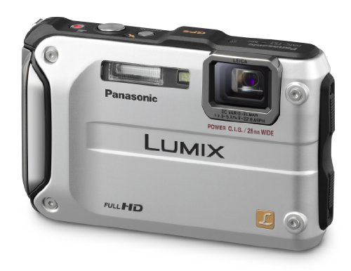(Panasonic Lumix DMC-TS3 12.1 MP Rugged/Waterproof Digital Camera with 4.6x Wide Angle Optical Image Stabilized Zoom and 2.7-Inch LCD (Silver))