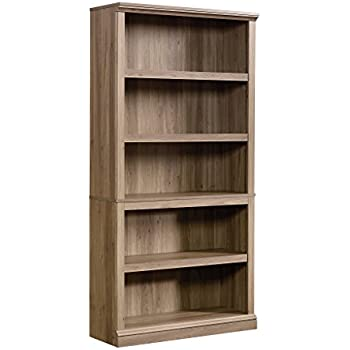 Sauder 5 Shelf Bookcase Salt Oak