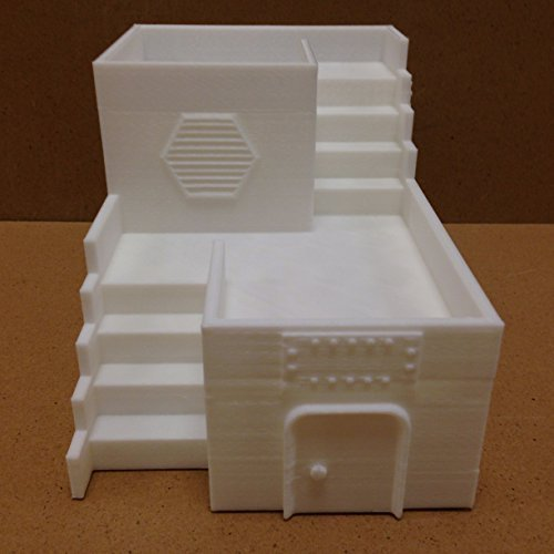 Paintable-Two-Story-Base-3D-printed-wargame-terrain-for-tabletop-miniatures-and-wargaming