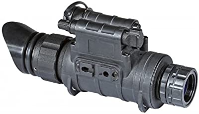 Armasight Sirius GEN 2+ ID MG Multi-Purpose Improved Definition Night Vision Monocular with Manual Gain, Black