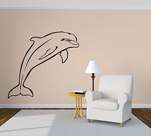 DOLPHIN SEA vinyl wall art decal sticker