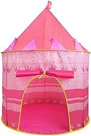 Jasonwell Casa de campaña con diseño de Castillo para niños niñas Tiendas de campaña Transpirable para Guardar