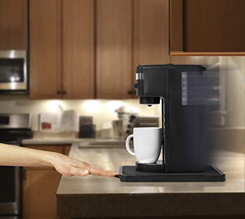 Under the Cabinet Rolling Small Countertop Appliance Tray for Rolling Keurig Coffee Makers, Blenders, Drip Coffee Makers, Mixers, and Toasters