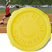 Softball Training Aid Equipment for Pitching & Throwing, Spin Right Spinner, Used at Top Collegiate Progra