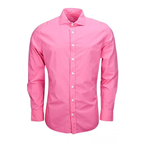hackett-london-mens-casual-shirt-xx-large-pink-rosa-rosa