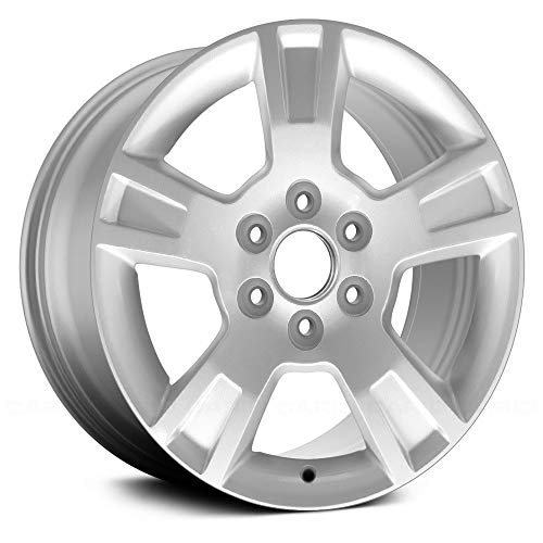 - Replacement 5 Spokes All Painted Sparkle Silver Factory Alloy Wheel Fits GMC Acadia