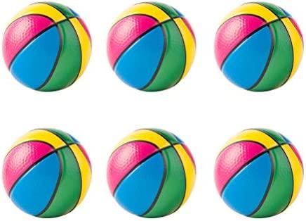 NUOBESTY - Balón de Baloncesto de Espuma Roy Ball (12 Unidades, 6 ...