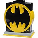 Batman Logo Toothbrush Holder for Kid's Bathroom, 100% Polyresin
