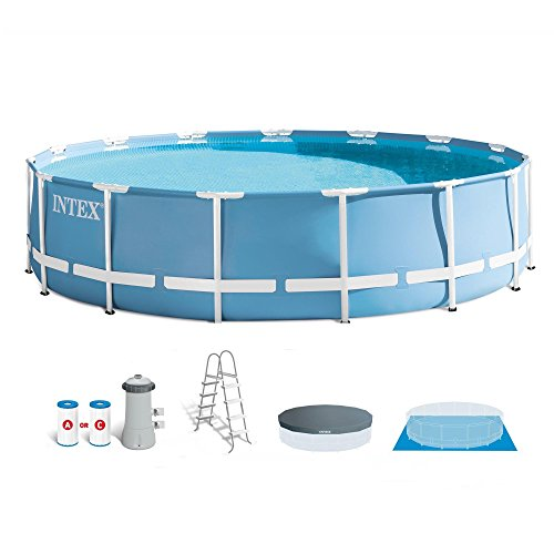Intex Round Frame Prism Pool Set - 15 ft. x 48 in.