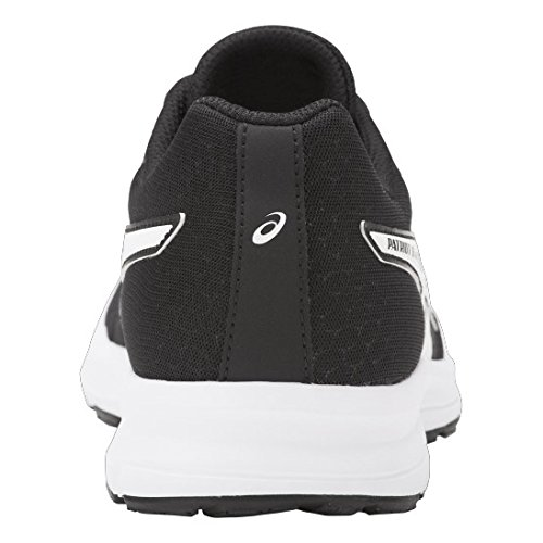 Asics Patriot 8, Zapatillas de Gimnasia para Mujer Negro (Black/white/white)