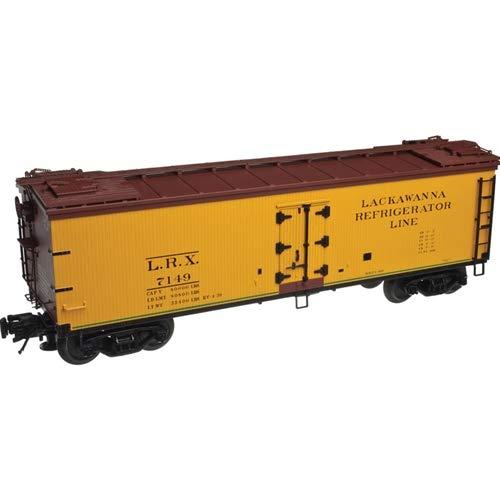 - O Scale 3 Rail 40' Rebuilt Wood Reefer #7260 Lackawanna Refrigerator Line LRX