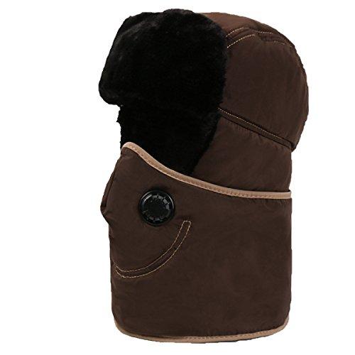 El Bomber Warm Unisex Winter Ear De Hikin Para Esquí Ushanka Mens Hat A Lightpink Máscara Flap Patinaje SOOCO Viento De Prueba 5E7qZwzxn