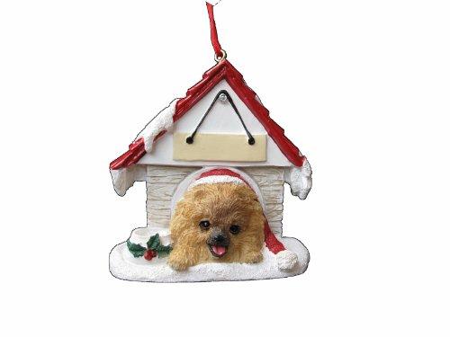 Pomeranian Red Doghouse
