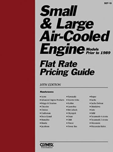 small large engine flat rate penton staff 9780872883277 amazon rh amazon com Flat Rate Labor Flat Rate Pricing