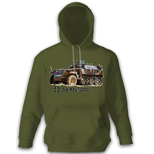 Half Track Tank - SdKfz250 half track armored personnel SPW special automobile tanks Germany