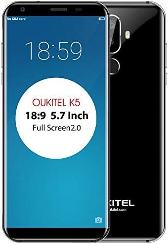 OUKITEL K5-5.7 Pulgadas HD (relación 18: 9) Android 7.0 4G ...