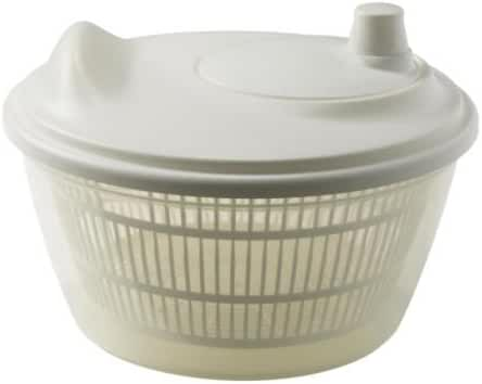 Ikea 601.486.78 Tokig Salad Spinner, White