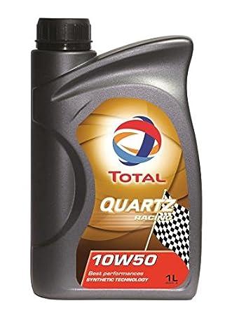 Total Quartz Racing 10 W/50 Totalmente Aceite sintético de motor (1 L): Amazon.es: Coche y moto