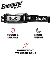 Energizer LED Headlamp Flashlight, High ...