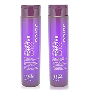 4. Color Balance Purple Shampoo & Conditioner by Joico
