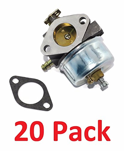 (20) CARBURETORS for Tecumseh 632370A 632370 632110 fits HM100 HMSK100 HMSK90 by The ROP Shop by The ROP Shop