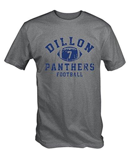 6TN Men's Dillon 7 T-Shirt Medium Ash - Jerseys Mens Panthers
