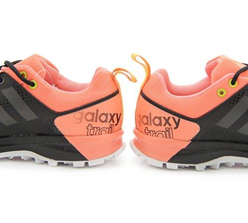 adidas Damen Galaxy Trail W Laufschuhe Black (Nocmét / Brisol / Limsho)
