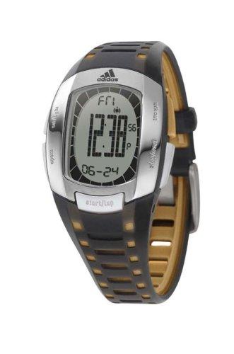 Adidas Performance-ADP1156F Fitness-Reloj para mujer cuarzo, digital, correa de plástico, color negro y naranja: Amazon.es: Relojes