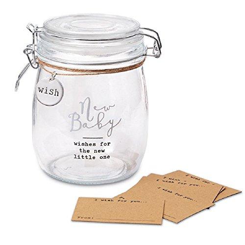 New Baby Wish Jar Set, 6 3/4
