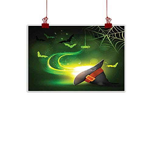 Mannwarehouse Modern Oil Paintings Halloween Party Bright Picture Canvas Wall Art 32