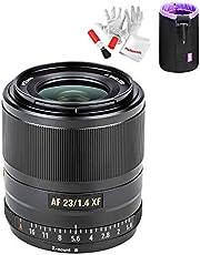 Viltrox 23mm F1.4 STM Autofocus Large Aperture APS-C Lens for Fujifilm Cameras X-A1 X-A2 X-A3 X-A10 X-at X-M1 X-M2 X-A20 X-A5 X-T1 X-T10 X-T2 XT-3 X-T20 photo