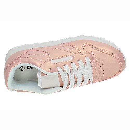 Chaussures Sport de Rose DEMAX Femme 1wgfdxg8q