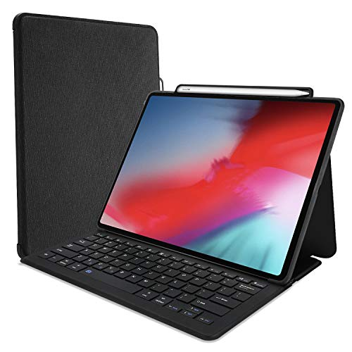 ProCase Keyboard Case for iPad Pro 11' 2018 [ Support Apple Pencil...