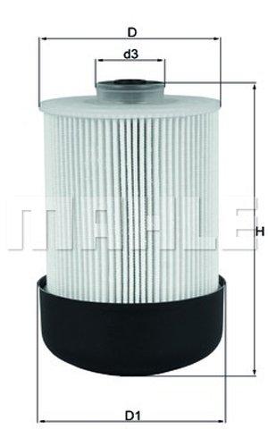 Mahle Siervo filtro kx338//22d filtro de combustible