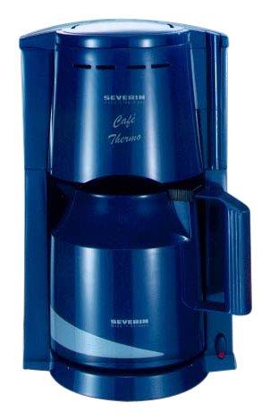 Severin KA 4662 Cafetera de filtro azul: Amazon.es: Hogar