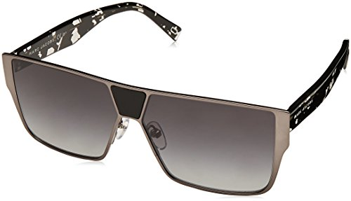 Sunglasses Marc Jacobs 213 /S 0V81 Dark Ruthenium Black / 9O dark gray - Jacobs Sunglasses Marc Shield