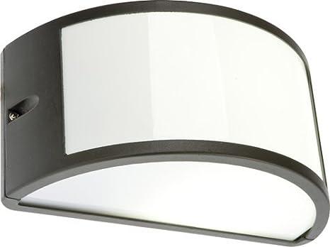 Plafoniere Per Esterno Balconi Trova : Lampada applique nera plafoniera da esterno mezzaluna cm